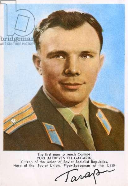Portrait of Yuri Alexeyevich Gagarin