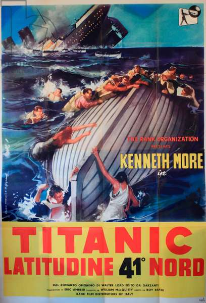 A Night to Remember, Titanic movie poster