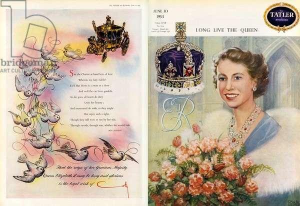 Celebrating the coronation of Queen Elizabeth II