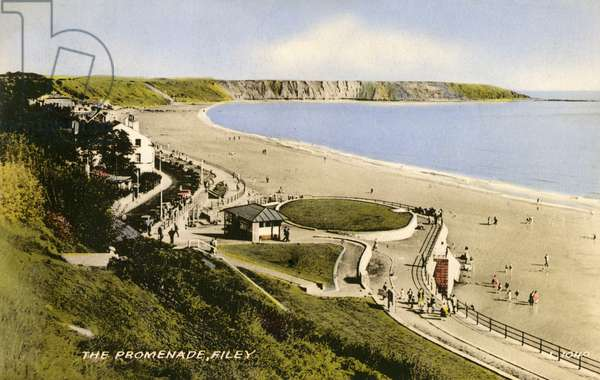 View of the Promenade, Filey, North Yorkshire