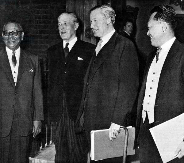 Harold Macmillan et Duncan Sandys
