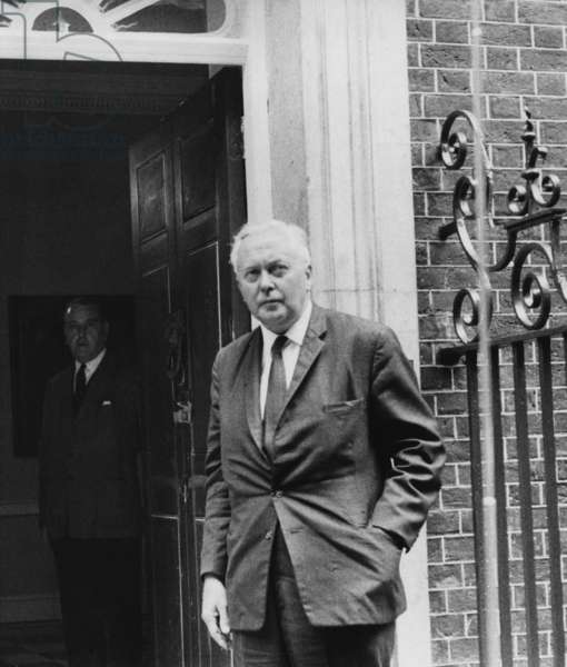 Harold Wilson, British Labour Prime Minister (photo)