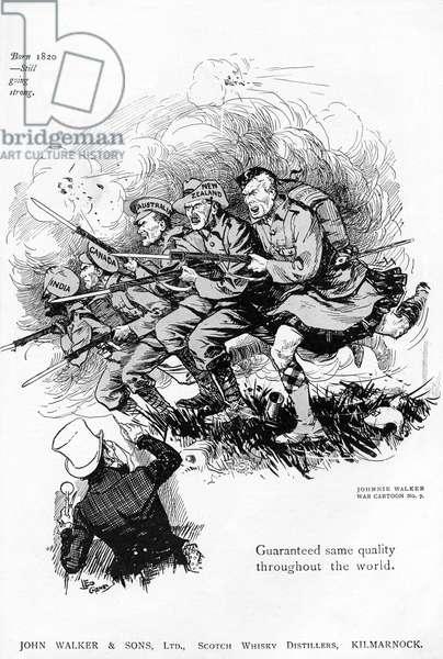 Johnnie Walker advertisement, WW1