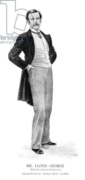 LLOYD GEORGE CIRCA 1890