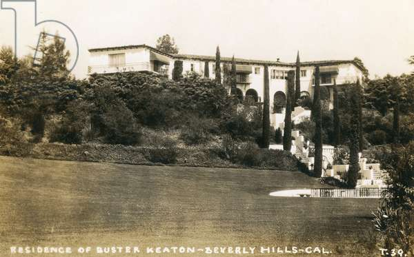 Residence of Buster Keaton, Beverly Hills, USA