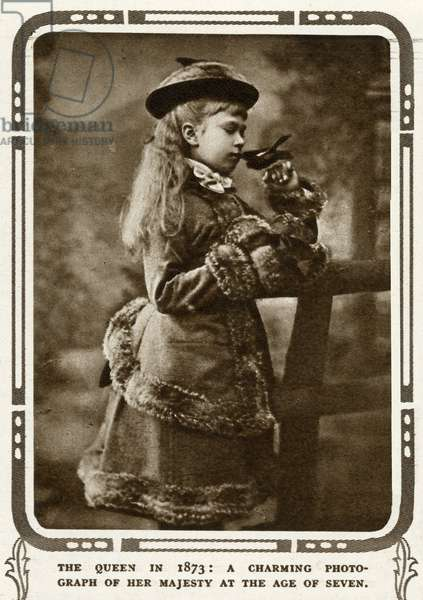 Princess May of Teck as young child