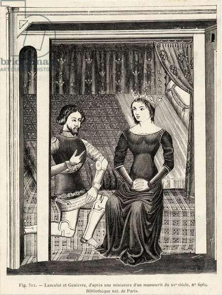 Lancelot and Guenievre