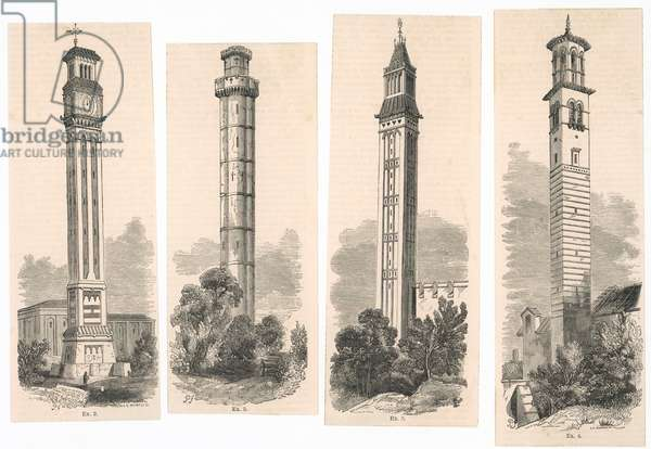 ORNAMENTAL CHIMNEYS 1850