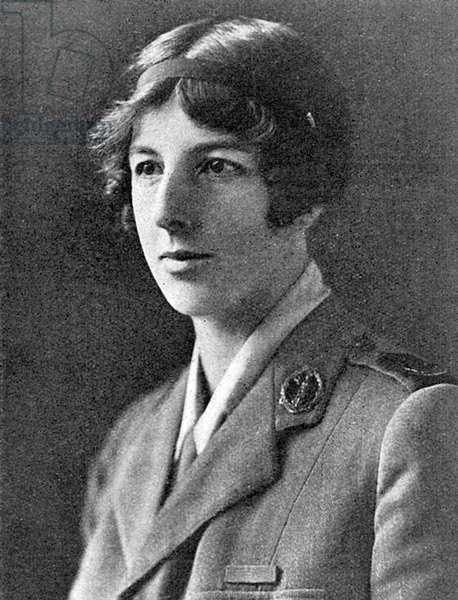 Lady Londonderry, President of Women's War Service Legion