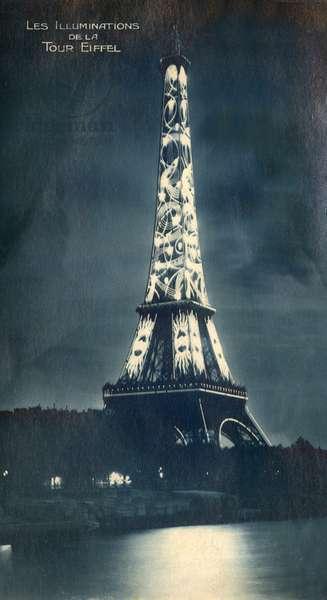 Eiffel Tower, Paris, France - Night Illuminations