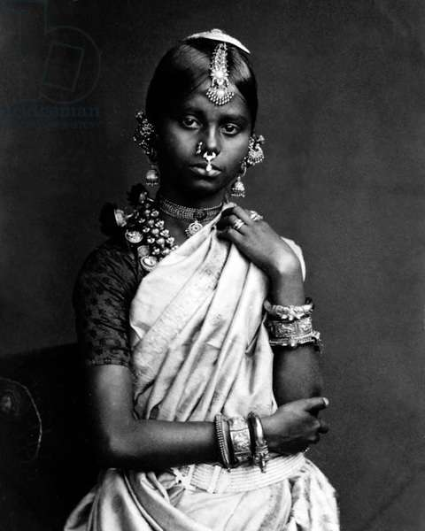 Girl, Ceylon (Sri Lanka)