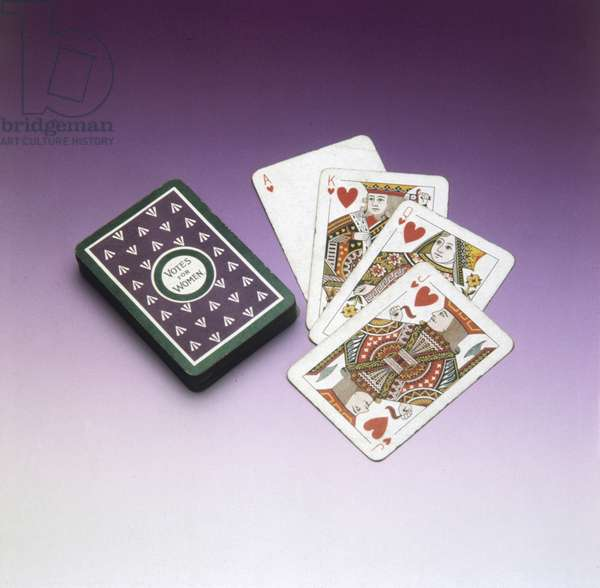 SUFFRAGE PLAYING CARDS