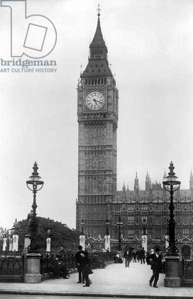 PARLIAMENT/BIG BEN 1920S