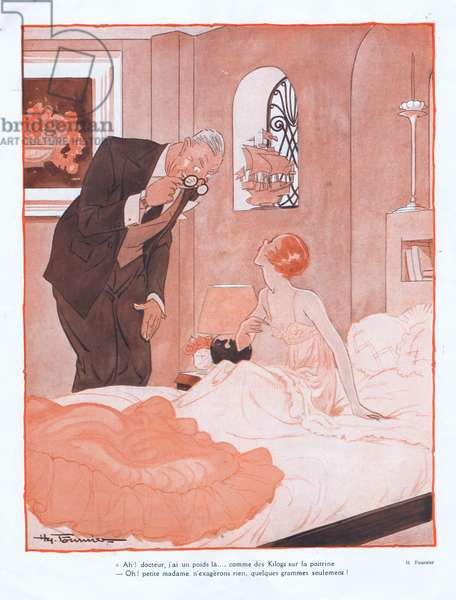 Illustration from Paris Plaisirs number 123, October 1932