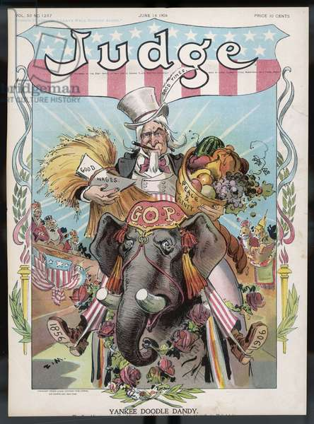 UNCLE SAM (JUDGE 1906)
