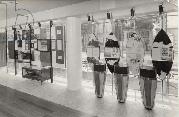 Display in Baden Powell House, London