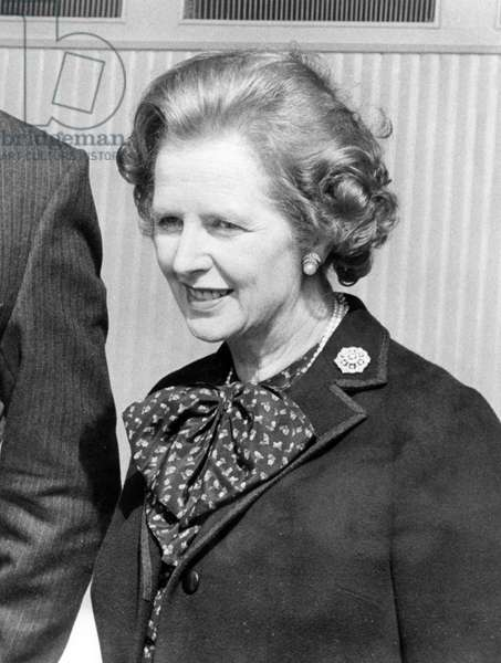 Prime Minister Margaret Thatcher - Visiting Cornwall