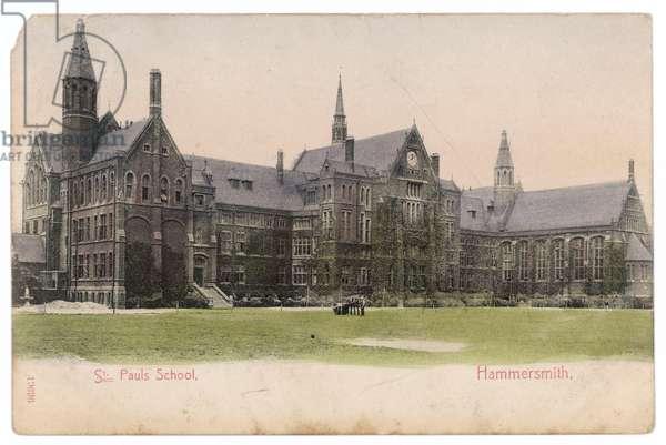ST PAUL'S SCHOOL 1904
