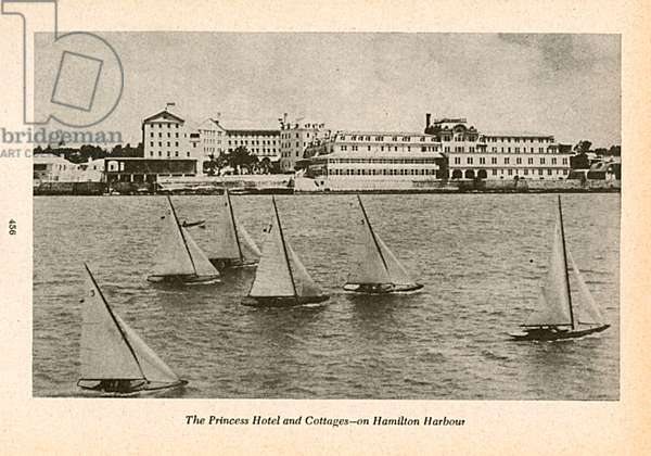 The Princess Hotel and Cottages, Hamilton, Bermuda