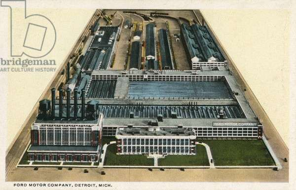 The Ford Motor Company Factory - Detroit, Michigan, USA