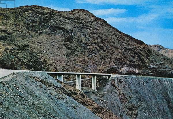 Saudi Arabia - Taif-Bishah Road - Shomrock Bridge