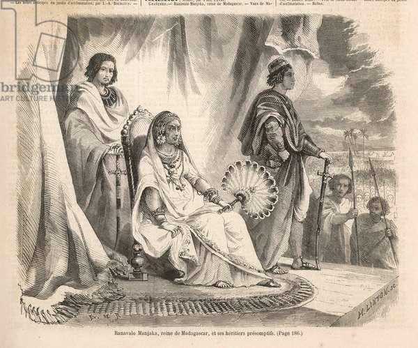 RANAVALONA I/MADAGASCAR