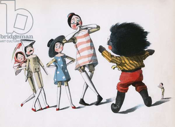 The Golliwogg's Bicycle Club - Scare stories of Turks