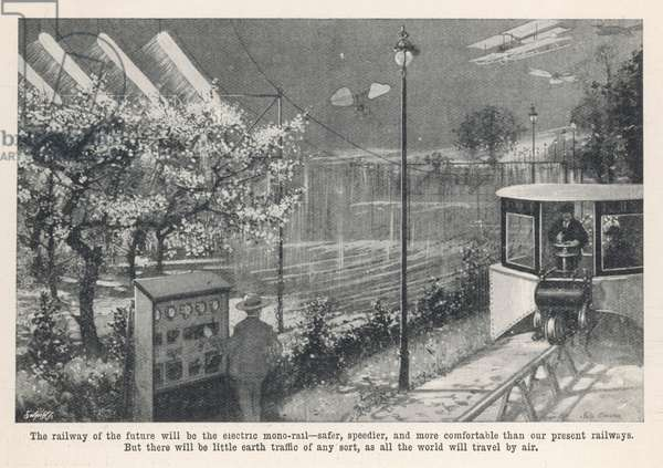 ELECTRIC MONORAIL 1909