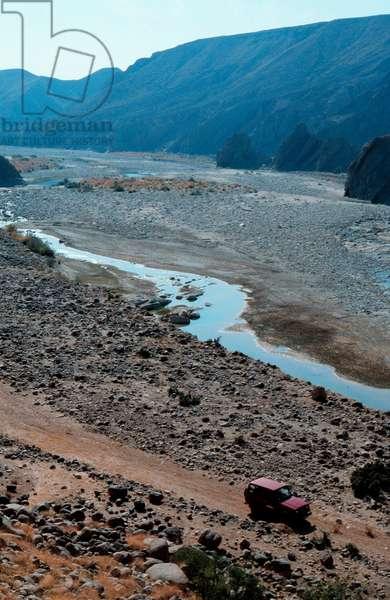 River gorge, Pakistan