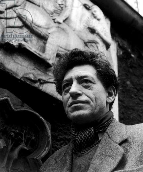 Alberto Giacometti, c.1953 (b/ w photo)