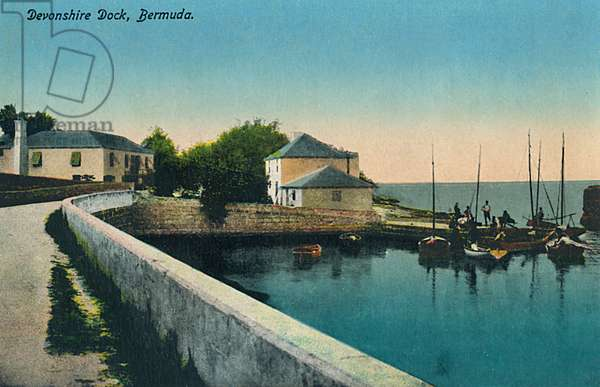 Devonshre Dock, Bermuda, Atlantic Ocean