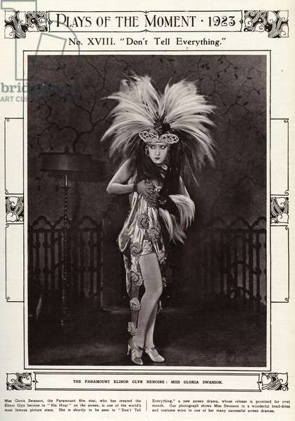 Gloria Swanson in 1923
