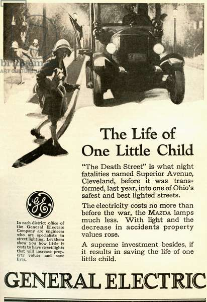Advert for General Electric