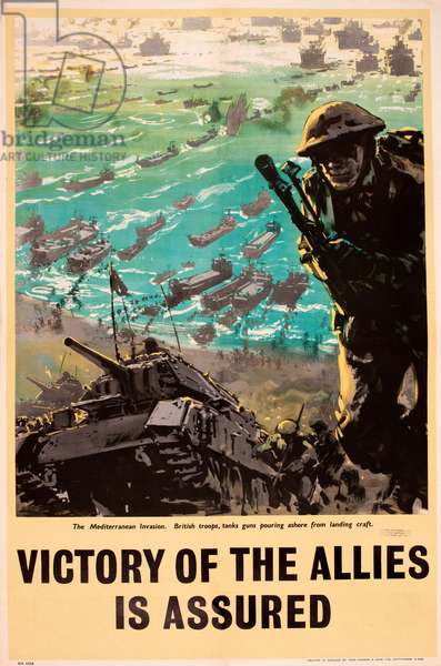 WW2 poster, Victory of the Allies is Assured