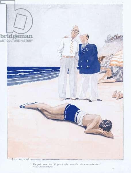 Illustration from Paris Plaisirs number 75, September 1928