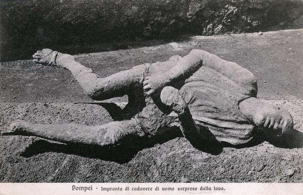 A Victim at Pompeii