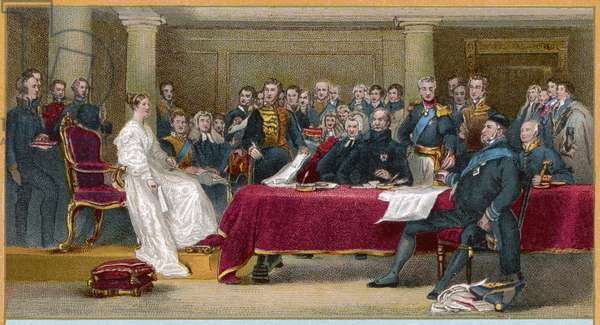 1st Council of Queen Victoria