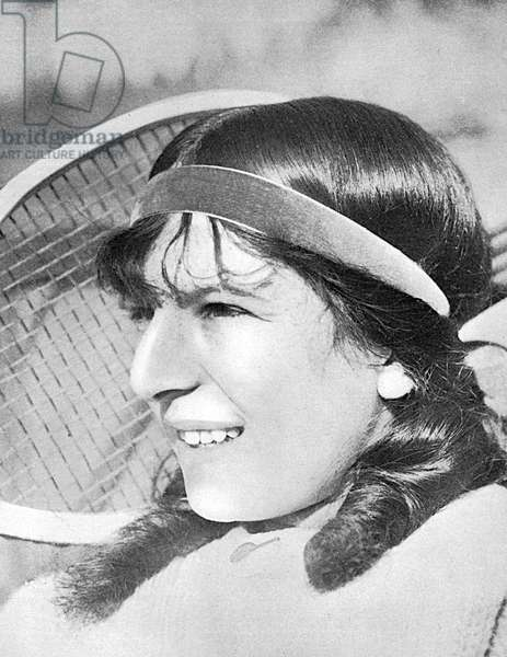 Suzanne Lenglen aged 15
