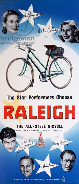 Poster, The Star Performers Choose Raleigh