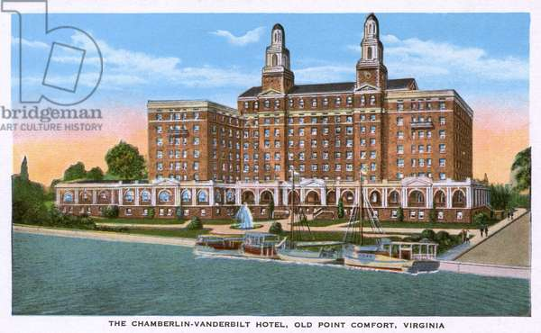 Hotel at Old Point Comfort, Hampton, Virginia, USA