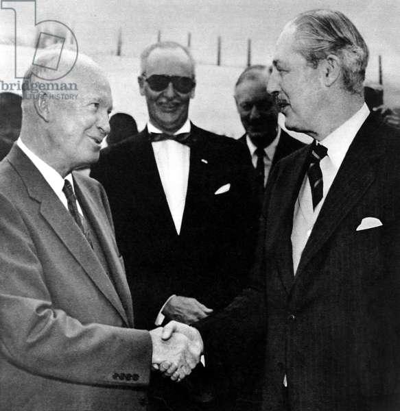 Eisenhower et Macmillan
