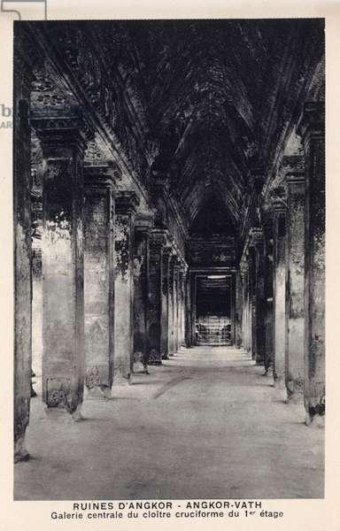 Angkor Wat - Cambodia - Central Gallery
