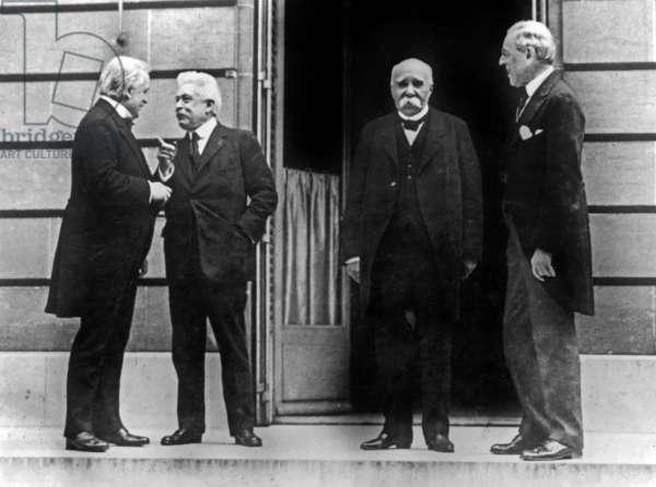 Peace Treaty of Versailles, 1919