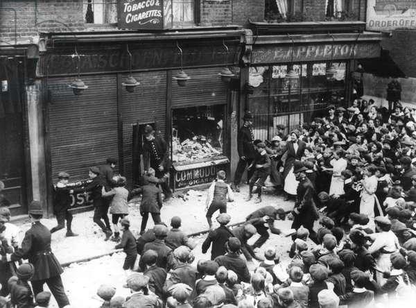 Lusitania anti-German riots
