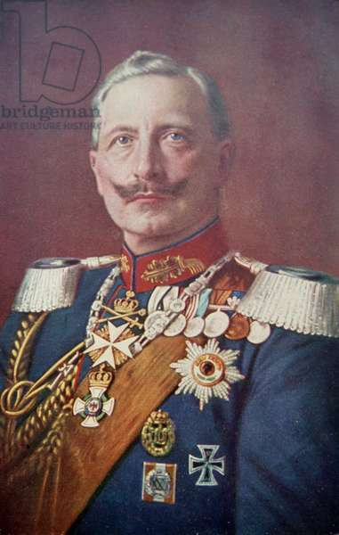 Kaiser Wilhelm II, Emperor of Germany