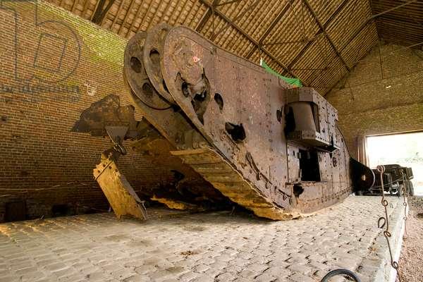 Tank D.51 \'Deborah\' - Battle of Cambrai