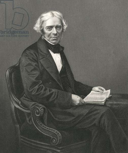 English Scientist Michael Faraday Portrait