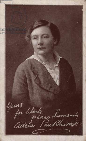 Adela Pankhurst Suffragette