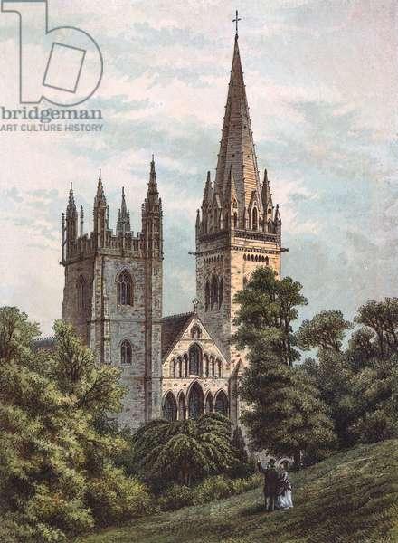 LLANDAFF CATHEDRAL/1876