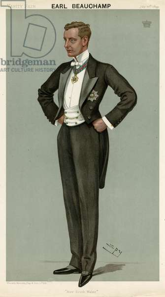William Lygon, Vanity Fair, Spy